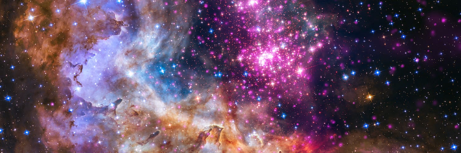 NASA UNVEILS CELESTIAL FIREWORKS AS OFFICIAL HUBBLE 25TH ANNIVER